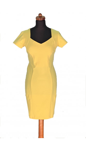 Šaty Žlté Apolia - 5150 Color 215