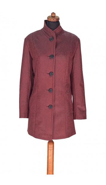 Plášť bordovy Aimee - 5297 Color 464