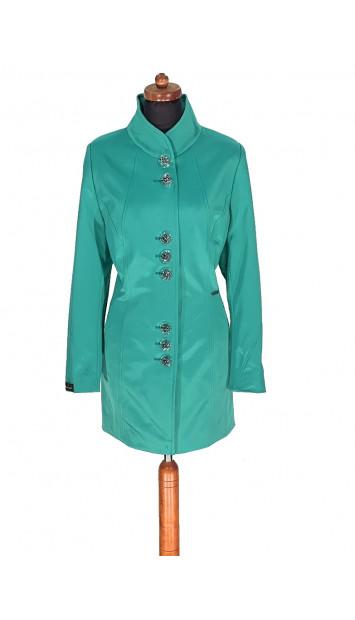 Plášť tyrkysovy Akama - 5298 Color 170
