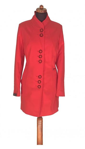 Plášť  červený Akama - 5298 Color 275
