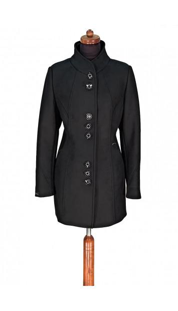 Plášť čierny Akama - 5298 Color 455