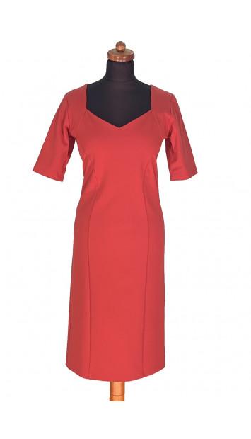 Šaty Červené Akando - 5301 Color 218