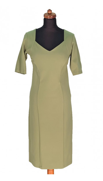Šaty Zelené Akando - 5301 Color 220