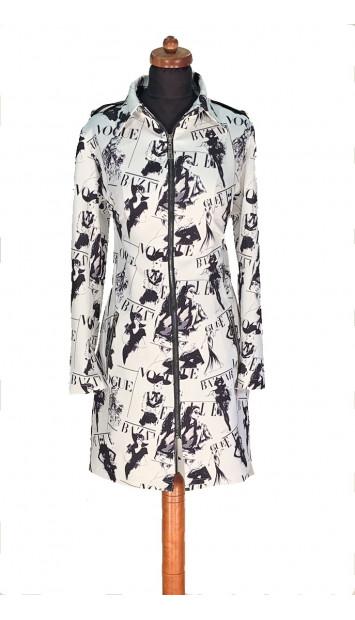 Šaty Biele akash - 5303 Color 478