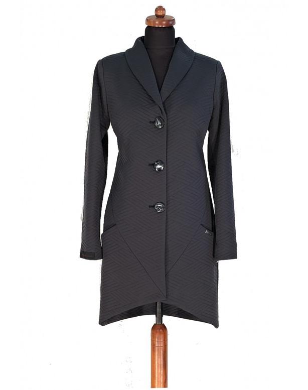 Plášť Čierny Fin - 5296 Color 468
