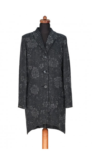 Plášť Čierny Fin - 5296 Color 186