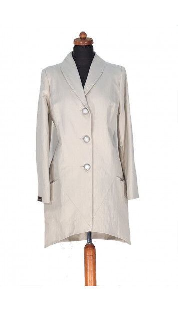 Plášť Béžovy Fin - 5296 Color 459