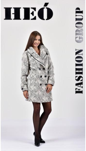 Kabát biely Row - 5132.1 Color 298