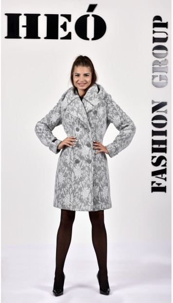Kabát sivý Kjara -  5239.1 color 406