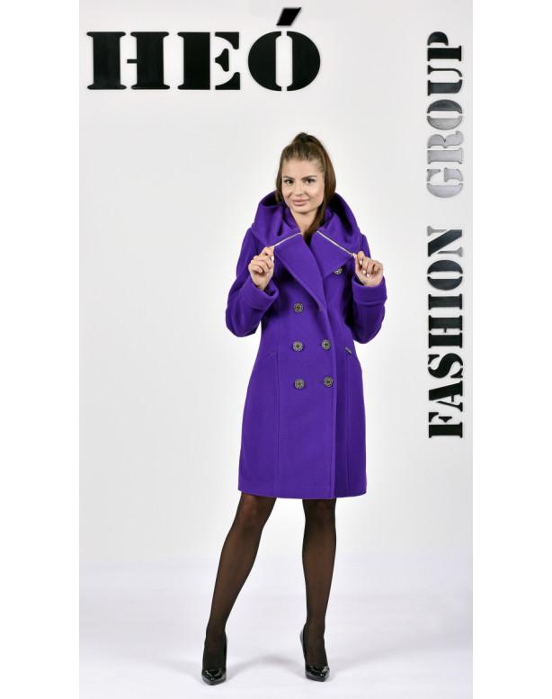 Kabát fialový Kjara -  5239 color 400