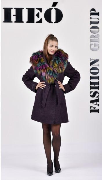 Kabát bordový Radka - 5256.1 Color 430