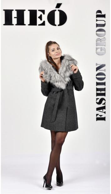 Kabát čierny Radka - 5256.1 Color 431