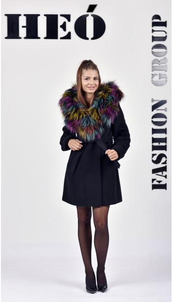 Kabát čierny Radka - 5256 Color 77