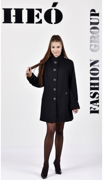 Kabát čierny Uwe - 5264 Color 77