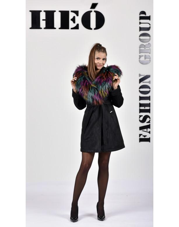 Kabát čierny Eileen - 5272.22 Color 404