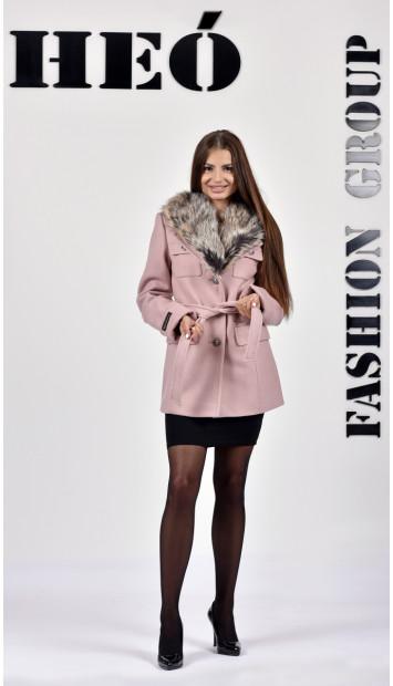 Kabát rúžovy Kasper - 5277 Color 420