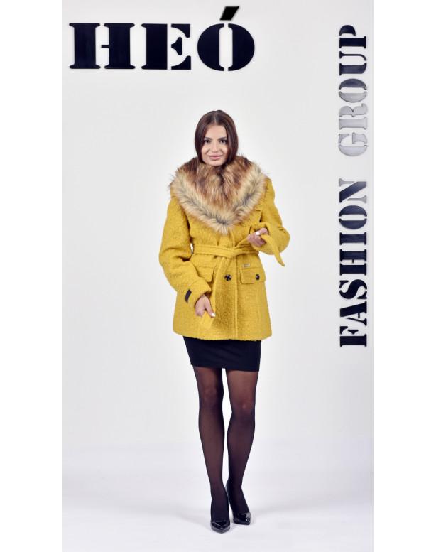 Kabát žltý Kasper - 5277.1 Color 429