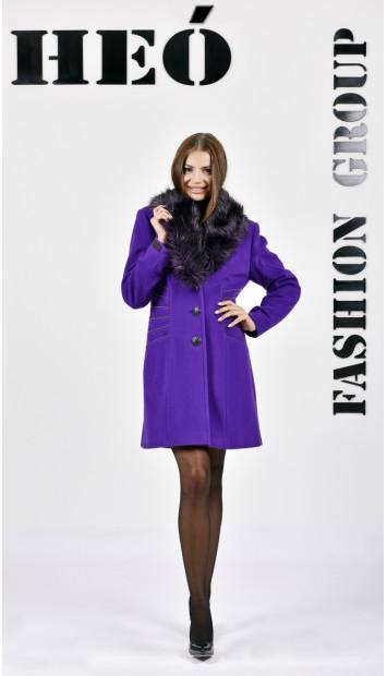 Kabát fialovy Heinrich - 5278 Color 400