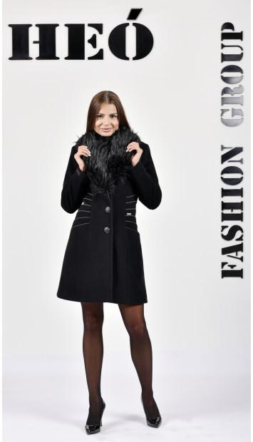 Kabát čierny Heinrich - 5278 Color 77