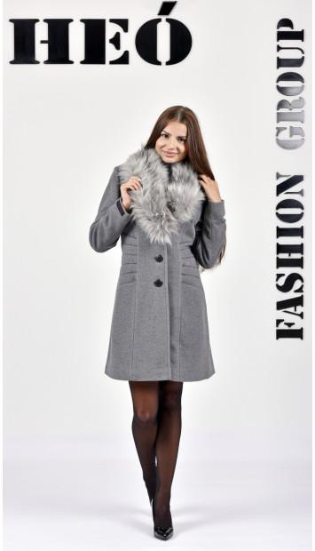 Kabát sivý Heinrich - 5278 Color 78
