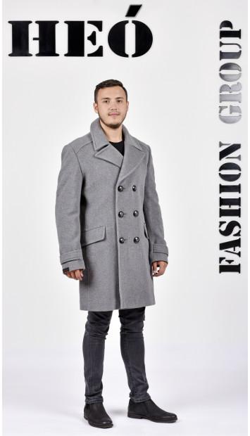 Kabát sivy Alfík - 5218 Color 78