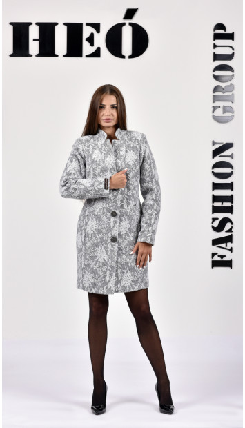 Kabát sivy coya - 5282.1 Color 406