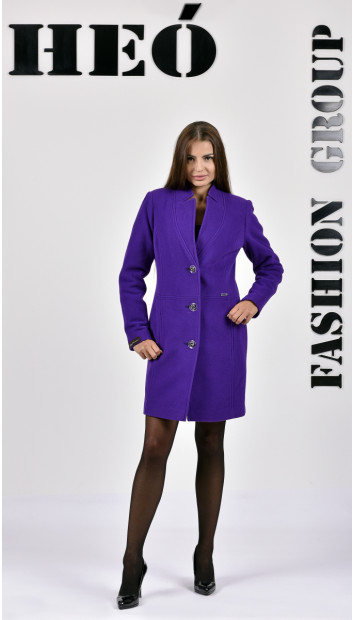 Kabát fialovy coya - 5282 Color 400