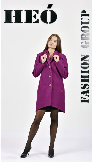 Kabát fialovy Fin - 5284 Color 419