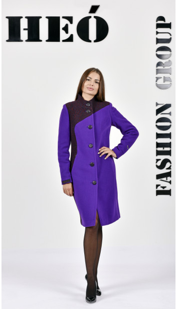 Kabát fialovy Sever  - 5286.1 Color 400/437