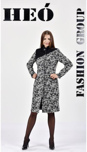 Kabát čierny Sever  - 5286.1 Color 412/77