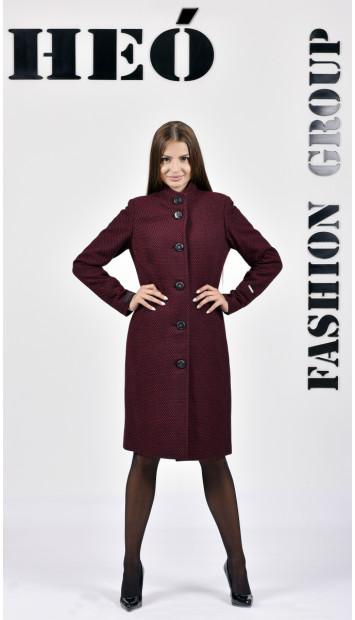 Kabát bordovy Sever  - 5286.1 Color 435