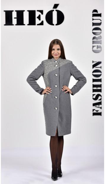 Kabát sivy Sever  - 5286.1 Color 78/433