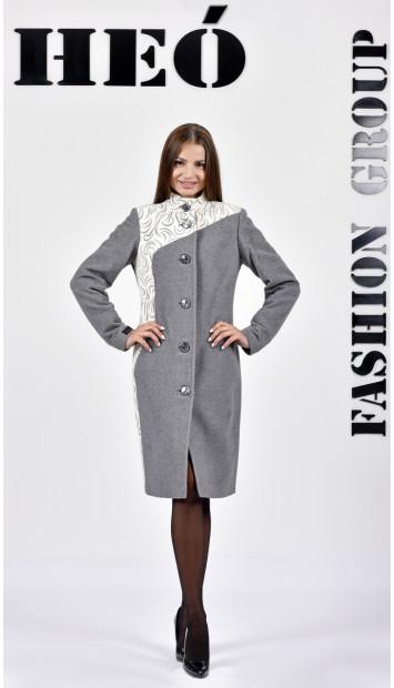 Kabát sivy Sever  - 5286.1 Color 78/440