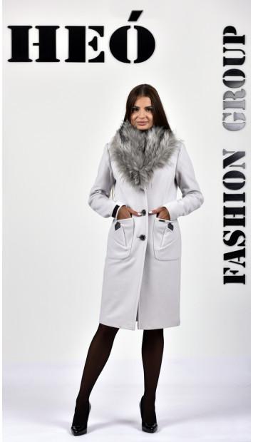 Kabát bežovy Marmi  - 5287 Color 246