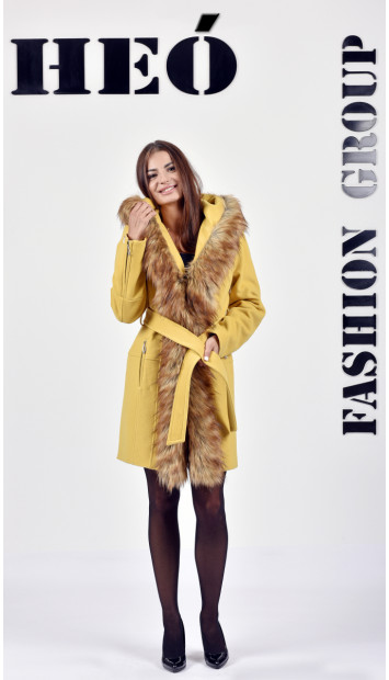 Kabát žlty Toril  - 5288 Color 306