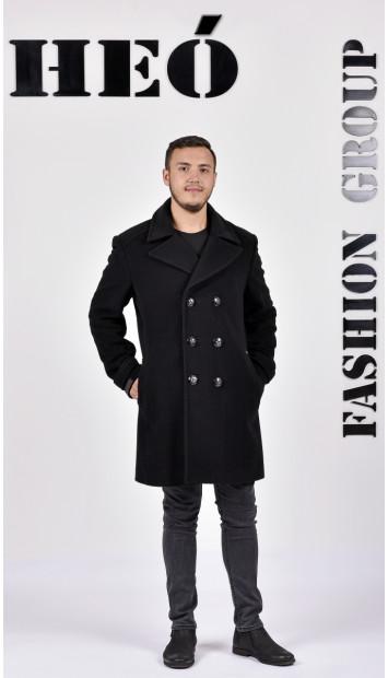 Kabát čierny Natalie  - 5295 Color 77
