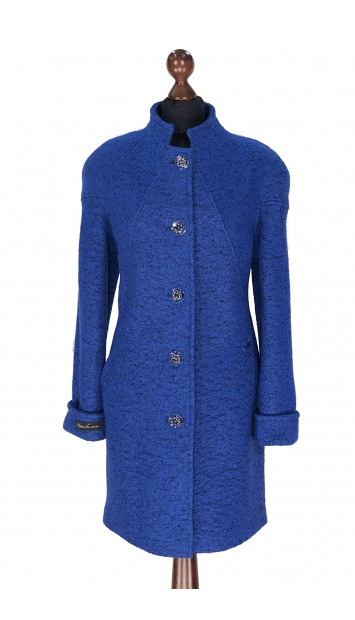 Kabát modrý Aban  - 5304.1 Color 501