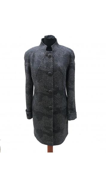 Kabát čierny Aban  - 5304.1 Color 521