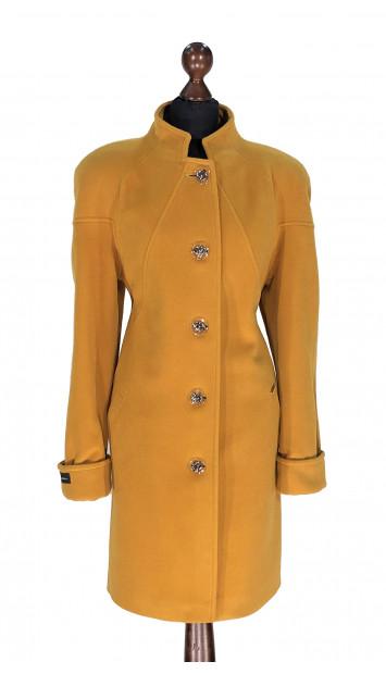 Kabát žltý Aban  - 5304 Color 304