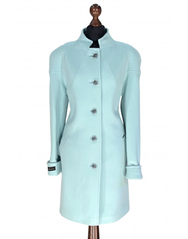 Kabát bledo-modrý Aban  - 5304 Color 504