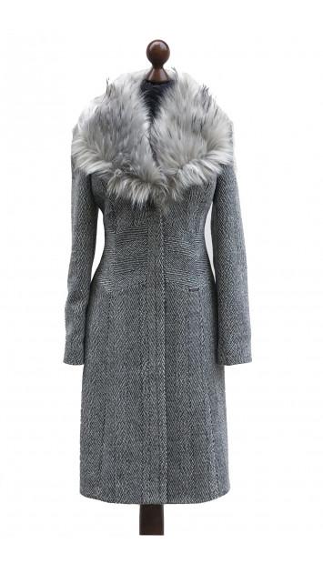 Kabát sivý Aahil - 5306 Color 409/409