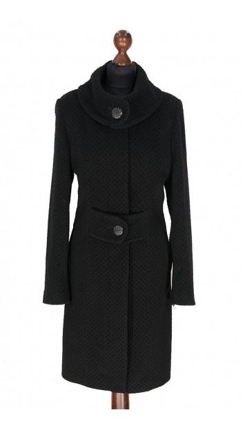 Kabát čierny Aaleyah - 5307 Color 522