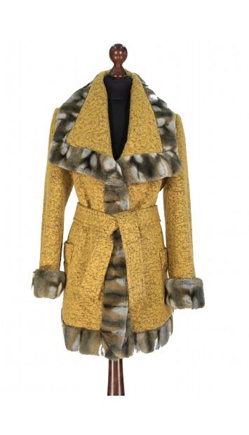 Kabát žltý Aanisah - 5308.1 Color 500