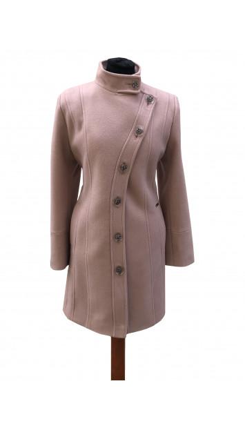 Kabát rúžovy Aariz - 5309 Color 420
