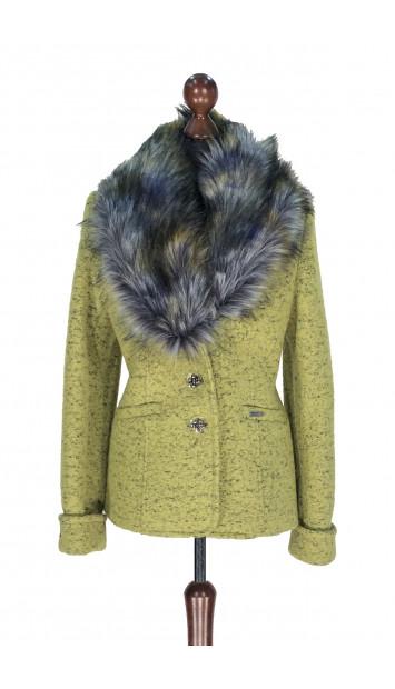Kabát zelený Aasimah - 5311.1 Color 503