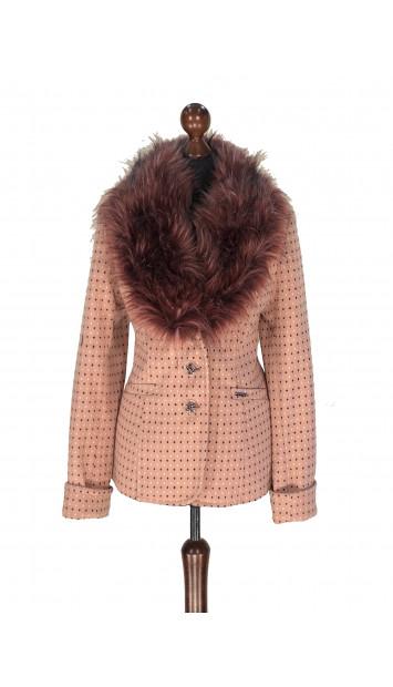 Kabát ružový Aasimah - 5311.1 Color 526