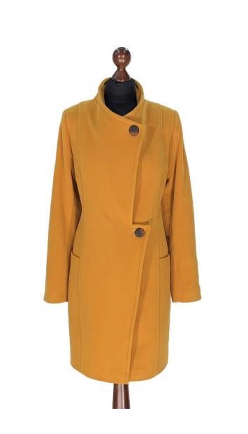 Kabát žltý Aayan - 5312 Color 148