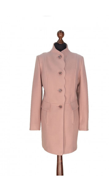 Kabát rúžovi Aazeen - 5314 Color 420