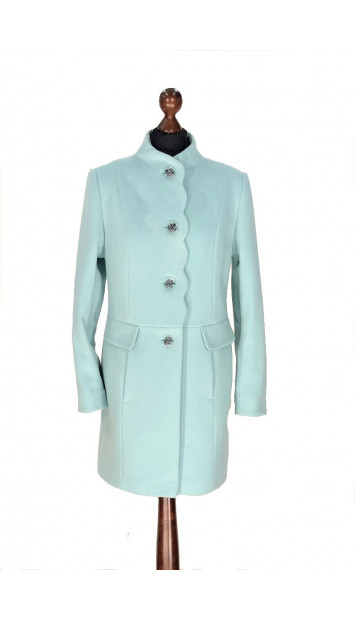 Kabát mentol Aazeen - 5314 Color 504