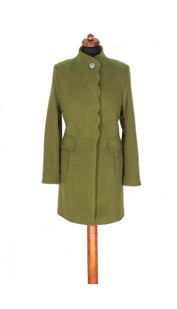 Kabát zeleny Aazeen - 5314 Color 245